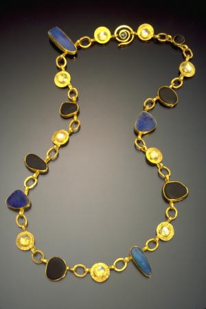 Moonscape River Rock Necklaces