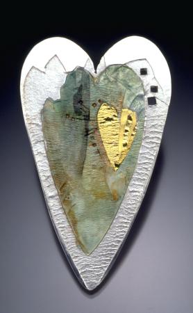 Amulet Heart #9 Brooch